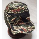 1970's-80's Philippine Tiger Stripe Boonie Hat