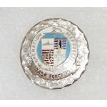 1960's Operation Deep Freeze Task Force 199 Enameled Sweetheart / Patriotic Pin
