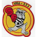 Vietnam Era US Marine Corps VMA-223 Japanese Made Squadron Patch