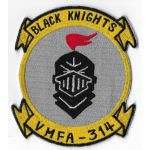 Vietnam Era US Marine Corps VMFA-314 BLACK KNIGHTS Okinawa Made Squadron Patch