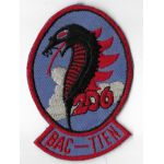 Vietnam US Air Force Sheppard Air Force Base VNAF 206th Squadron Bac-Tien Training Squadron Patch