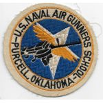 WWII US Navy Naval Air Gunners School Purcell Oklahoma Squadron Patch
