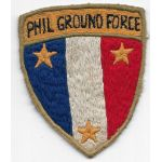 1940's-50's Philippine Ground Forces Theatre Made Patch