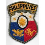 1940's-50's Philippine Headquarters Theatre Made Patch