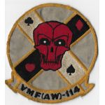 1960's US Marine Corps VMF (AW)-114 Squadron Patch