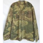 Rhodesian Army Camo Shirt With Odd Dye Pattern