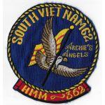 Vietnam US Marine Corps HMM-362 Archies Angels Squadron Patch