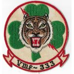 1950's-60's US Marine Corps VMF-333 Squadron Patch