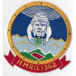 1950s-60's US Marine Corps HMR(L)-362 Squadron Patch
