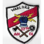 Vietnam 117th Aviation Company WARLORD Pocket Patch