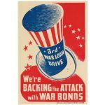 WWII 3rd War Loan Sticker (?)