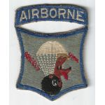 1950's 511th Airborne Infantry Regiment Used Patch
