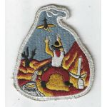 WWII 49th Anti-Aircraft Artillery Brigade White Border Patch