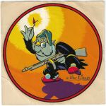 WWII AAF 420th Night Fighter Squadron Disney Design Squadron Patch Decal