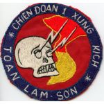 Vietnam US Special Forces / ARVN Special Forces Task Force 1 CCN /  Command Control North Pocket Patch