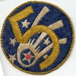 Korean War 5th Air Force Japanese Raw Silk Squadron Patch