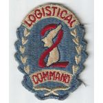 Late 40's-50's 2nd Logistical Command Patch