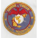 WWII US Marine Corps Mirror Patch