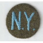 WWII New York State Guard Overseas Cap Patch