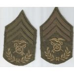 WWI Quartermaster Sergeant Match Set Of Chevrons