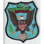 Vietnam US Navy River Division 553 Japanese Made Patch