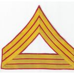 WWI US Marine Corps Quartermaster Sergeant Chevron