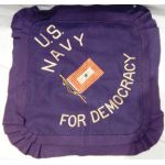 WWI Son In Service US Navy For Democracy Wool Pillow Cover