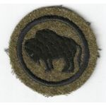 1920's 92nd Division Studley Patch