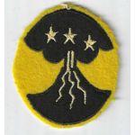 WWII 1st Filippino Unit On Felt Patch