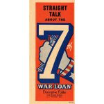 WWII 7th War Loan Treasury Department Pamphlet