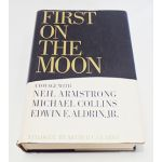 Autographed Copy of First On The Moon by Gene Farmer Signed By Buzz Aldrin