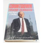 Autographed Copy of Countdown by Frank Borman Signed By Two Astronauts