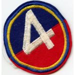 Vietnam Era 4th Brigade Cambodian / FANK Patch