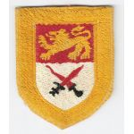 WWII-Occupation 15th Cavalry Regiment Silk Woven Patch