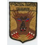 1950's-60's US Air Force 7th Tactical Fighter Squadron Patch