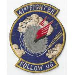 1950's US Air Force 41st Fighter Interceptor Squadron Patch
