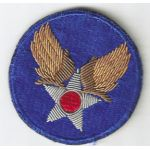 WWII Army Air Forces Headquarters GEMSCO Bullion Patch