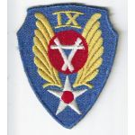 WWII - Occupation 9th Aviation Engineers Theatre Made Patch
