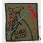 Vietnam 198th Infantry Brigade BLACK DEATH Pocket Patch