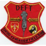 Vietnam MACV Drug Education Field Team Pocket Patch