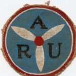 WWII US Navy Aircraft Repair Unit 145 Identified Squadron Patch