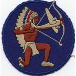 WWII AAF Ferrying Command Indian Chief Design English Made Squadron Patch