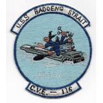 Korean War US Navy CVE-19 USS Badoeng Strait Carrier Patch