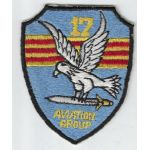 Vietnam 17th Aviation Group Japanese Made Pocket Patch
