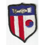 1950's Korean Civil Assistance Command Japanese Made Patch