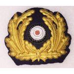 WWII German Officers Kreigsmarine Visor Cap Wreath
