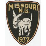 Pre-WWII Missouri National Guard 1937 Back Patch