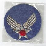 WWII Army Air Forces Headquarters NOS Gemsco Bullion Patch