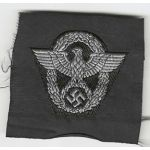 WWII German Police Officers M-43 Cap Patch