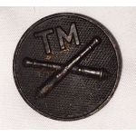 WWI Trench Mortar Artillery Enlisted Collar Disc